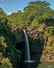 Rainbow Falls Hilo Hawaii (Michael Garson) Tags: trees holiday tree nature forest hawaii waterfall waterfalls bigisland