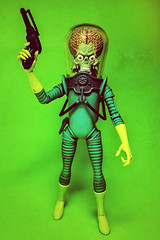 Mars Attacks (Evan MacPhail Photography) Tags: mars action alien ps figure express attacks martian iphone snapseed
