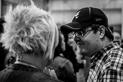 Social (wreckdiver1321) Tags: park people blackandwhite musician music white black beer brewing concert brewers montana live grain gritty event brewery annual metra brew billings associationspringfestival
