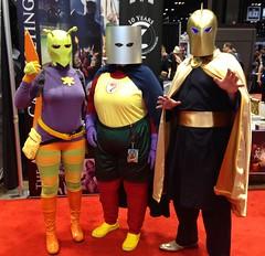Killer Moth, Red Tornado, Doctor Fate (Scopi) Tags: cosplay photostream c2e2 c2e22014