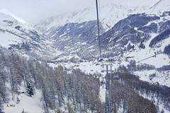 Gondola view (A. Wee) Tags: alps switzerland skiresort valley gondola zermatt express matterhorn