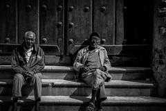 Havana & Cigars (smashwani74) Tags: street door old city portrait people blackandwhite bw men stairs relax blackwhite calle nikon noir noiretblanc retrato candid negro havana steps streetphotography cigars cuban habana rue personnes vieux hombres cigarro fotografa ancianos callejera sr213 blackwhitephotos relajarse d7100 fotografacallejera