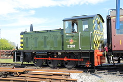 D2298 (Sir Trev) Tags: br diesel locomotive qrs shunter quainton brclass4 bucksrailwaycentre