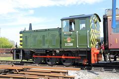 D2298 (Sir Trev) Tags: br diesel locomotive qrs shunter quainton brclass4 bucksrailwaycentre