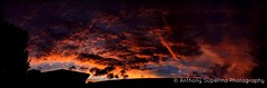 Autumn Sunset - 9th May 2016 (Anthony S.) Tags: autumn sunset sky panorama cloud colour nature clouds contrast canon landscape outdoors eos daylight skies outdoor dusk uv seasonal australia wideangle panoramic serene bluehour canoneos cloudscape anthonys goldenhour cloudscapes southernhemisphere uvfilter dramaticskies autumnsunset autumnskies contrastingskies contrastofcolours photoborder anthonysuperina