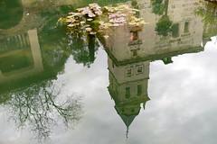 weerspiegeling (Bram Meijer) Tags: reflection pond spain granada spanje vijver reflectie