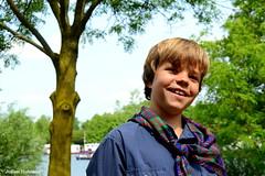 Happy (Julian Hofmans) Tags: portrait happy portret scouting blij pfadfinder cuijk