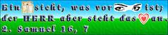 Ein Mensch sieht, was vor Augen ist; der HERR aber sieht das Herz an. 1. Samuel 16 Vers 7 (crossmedia.files) Tags: was 1 heart 7 an menschen 16 das augen richter ist der herr samuel auge herz vor prophet ein vers mensch aber gott herzen sieht zitate gedanken sprche bibelvers logisch oberflchlichkeit oberflchlich masstab taufspruch bibelzitat masstbe bibelzitate