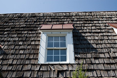 old roof (brianficker) Tags: usa detail architecture pennsylvania pa peddlersvillage