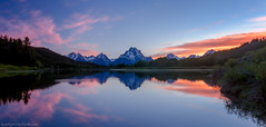 Right Place, Right Time (brentgoesoutside.com) Tags: travel sunset summer mountain lake reflection nature nationalpark nikon wideangle tokina wyoming grandtetons 2013 d7000 brentgoesoutside
