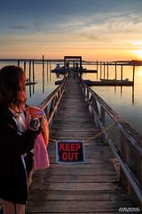 Keep Off (Daniel Reinhart) Tags: sunset newyork beach canon reflections dock stonybrook northshore northfork canon6d canonusa teamcanon optoutside