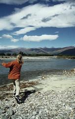 Poetry in motion (Simbosan) Tags: newzealand simon kate southisland okarito skimming