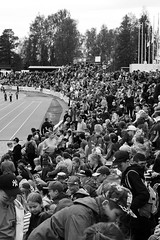 Stafettkarnevalen 2016, Vasa (Mika Lehtinen) Tags: school people finland europe crowd spectators biggest crowded vasa relays 2016 publik tvlingar trngt lpa stafettkarnevalen stafettkarneval