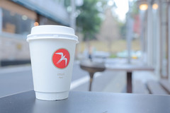 Fuglen Tokyo (Iyhon Chiu) Tags: coffee caf japan japanese tokyo cafe drink shibuya coffeeshop   cappuccino  yoyogipark      fuglen