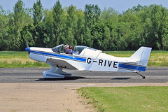 G-RIVE Jodel D.150 Mascaret M J Applewhite Sturgate Fly In 05-06-16 (PlanecrazyUK) Tags: sturgate egcs fly in 050616 lincoln aero club ltd grive jodeld150mascaret mjapplewhite fly in