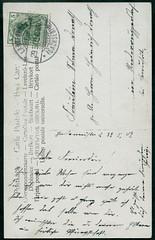 Archiv E705 Rotkppchenkarte, Langebrck, 29. Mrz 1909 (Hans-Michael Tappen) Tags: stamps postcard ephemera sachsen 1900s 1909 postkarte briefmarke poststempel langebrck 1900er schrft archivhansmichaeltappen