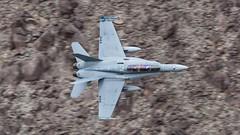 164254  'XE-444'  F/A-18D  USN  VX-9  'Vampires' (Churchward1956) Tags: california ca usa aviation f18 usn vampires lowlevel fa18d vx9 specialmarks nawschinalake 164254 xe444