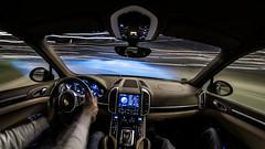 Drift (Dennis Tobias Alexis) Tags: auto light lightpainting blur car blurry interior sony trails cockpit verwischt lichtmalerei langzeitbelichtung longtimeexposure lichtspuren voigtlander15mm a7r