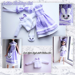 Lolita set EAH (So-Chic) Tags: cute outfit doll dolls cosplay clothes lolita kawaii sweetlolita taigaaisaka schoolset monsterhigh everafterhigh