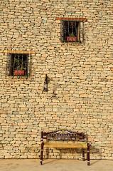 Views on the past (SAUD ALRSHIAD 2  ) Tags: life brown house window lines stone architecture composition photography daylight nikon view shot ngc line arabia past riyadh 2012 ksa chear saudia riydh    flickraward arabin d7000  nikonflickraward nikond7000 alrshiad  aljinadriah viewsonthepast