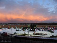 sunset (monkeykat) Tags: ny racetrack rochester races fingerlakes eastern nationals snocross amsoil