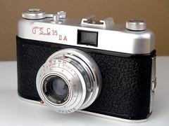 USC 35 IIA - 1958 (Casual Camera Collector) Tags: film 35mm king usc masta germancamera