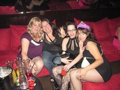 New Friends At Kitty Bar (Madilyn Carey) Tags: las vegas girls friends love rocks blondes romans countrymen