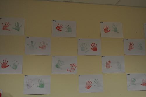 graffalo and hand prints