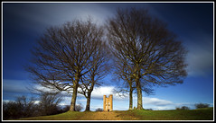 Broadway Tower (Antony....) Tags: trees tower nature clouds landscape geotagged blurry broadway windy cotswolds hills worcestershire ze broadwaytower zeiss21 distagont2821 geo:lat=52022848553862055 geo:lon=18359697735413647