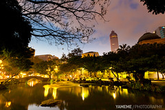 Into The Night, Taipei (yameme) Tags: sunset night canon nightshot taiwan taipei       1635mmlii 5dmarkii