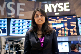 World Economic Forum visits New York Stock Exc...