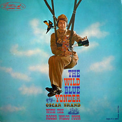 Humor Evolving - The Wild Blue Yonder (epiclectic) Tags: music art vintage comedy album military vinyl retro collection jacket cover lp record comedian sleeve 1959 parachute oscarbrand epiclectic