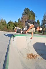 Matt Hanky B/S Air (SlashGrinder) Tags: skateboarding backsideair matthanky maedfordskatepark