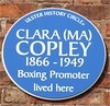 Clara (Ma) Copley 56 Donegall Pass, Belfast, 10 March 2012