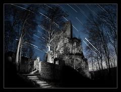 Neidlingen - Ruine Reuenstein (cndrs) Tags: ruine startrails reussenstein neidlingen reusenstein