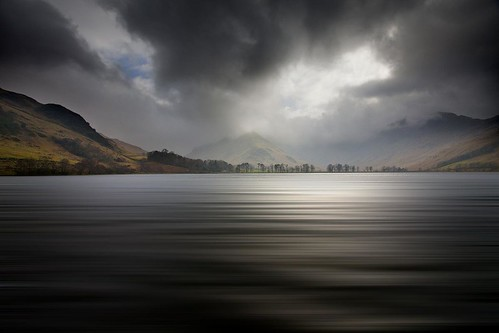 Lake Buttermere With Fleetwith pike & Haystacks.Lake District, Cumbria.
