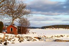 Stockholm Archipelago Shipping Lane. Winter Added. (AdurianJ) Tags: winter europa sweden february suecia 2012    nrdico escandinavia