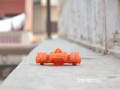 Toy Car (Tarun Chopra) Tags: macro car action depthoffield gurgaon toycar sportscar s100 powershots100 canonpowershots100