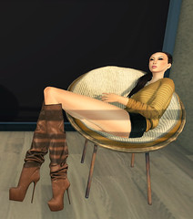 Just relaxing at home (   ~ Lyu Ji-Yun ~ [ Mochi ]) Tags: home secondlife maitreya loq yhouse jinirvana deeztales