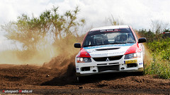 Mitsubishi Lancer Evolution 9 (autosport-media) Tags: canon rally 9 evolution 70200 lancer mitsubishi ix evo hardenberg vechtdal autosoft