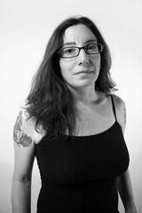 Sarah (VKMUSTBEDESTROYED) Tags: friends portrait blackandwhite female feminine tattoos