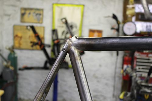John's fillet brazed road bike