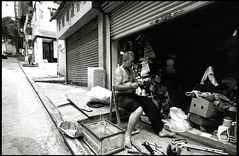 Scavenger (Chan, Danny) Tags: streetphotography kodak400tx leicamp leicatrielmarm161821mmf4asph