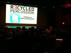 Recycled Percussion - Las Vegas, NV (tossmeanote) Tags: show las vegas justin music matt hotel ryan recycled percussion nevada nv projection talent showroom got todd spencer griffin americas vezina tropicana 2012 bowman iphone tossmeanote