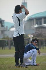 DSC_0112 (mechiko) Tags: 横浜ベイスターズ 120209 渡辺直人 新沼慎二 横浜denaベイスターズ 2012春季キャンプ