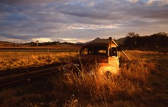Boonah Truck Sunset