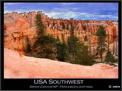 USA Southwest (pharoahsax) Tags: world usa get southwest colors rock canon rocks loop spires canyon boo spire trail bryce peek weg felsen 40d sdwesten canon40d felsnadeln pmbvw worldgetcolors