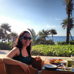 IMG_0844 (KevBone28) Tags: morning food beach breakfast clouds mexico chairs resort delicious cups plates