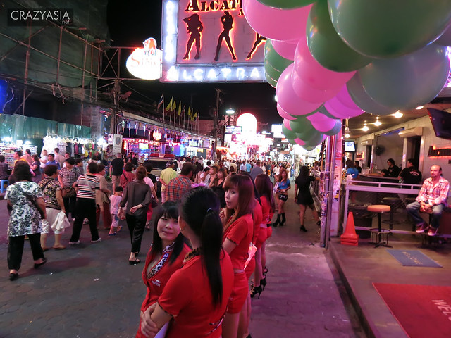 Walking Street, Pattaya, Thailand