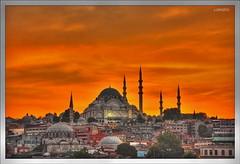 Atardecer en Estambul. (orojose) Tags: